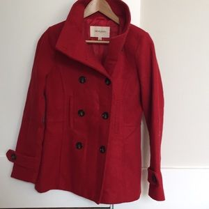 Red Thread & Supply Pea Coat Trench